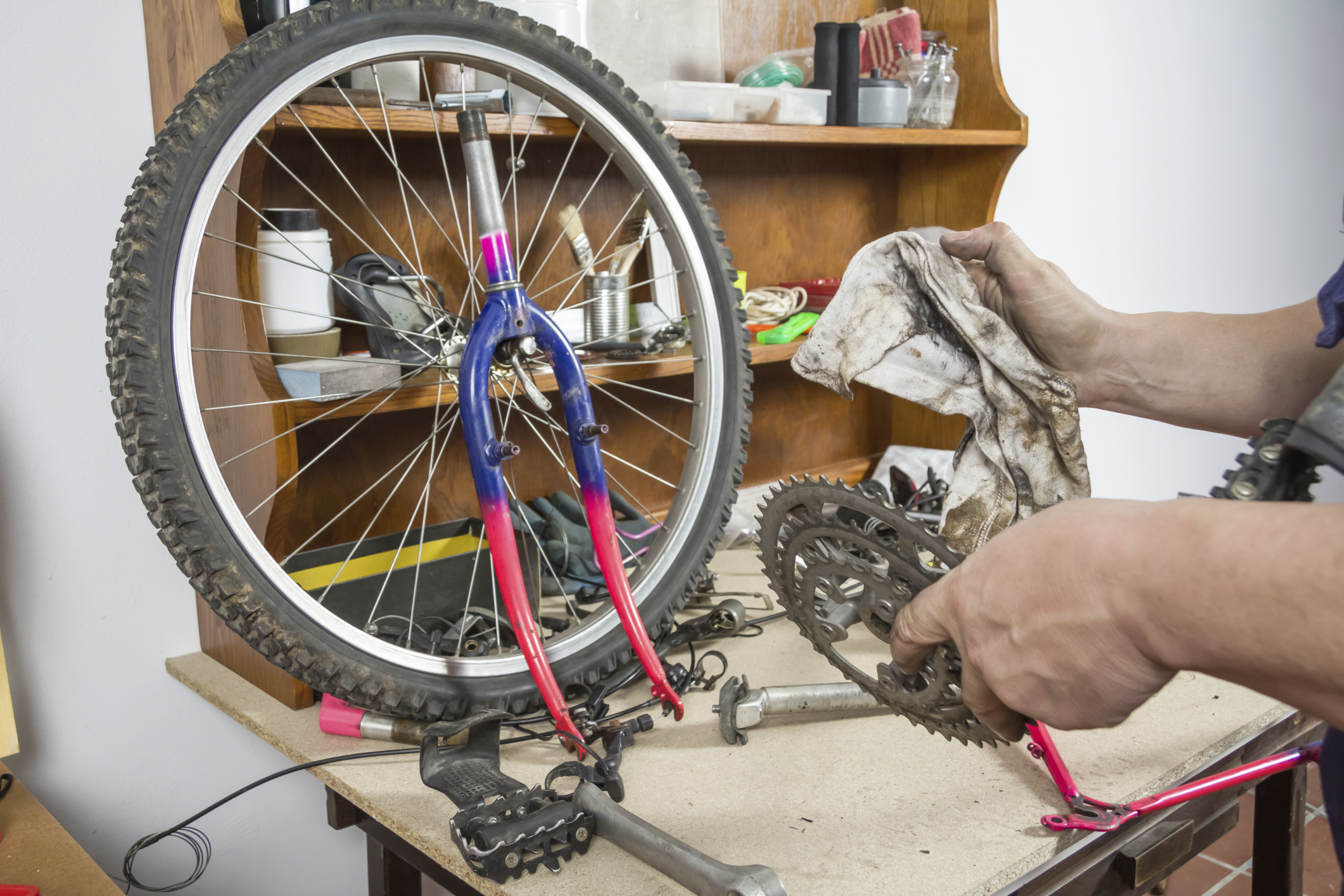Ремонт педалей велосипеда своими руками