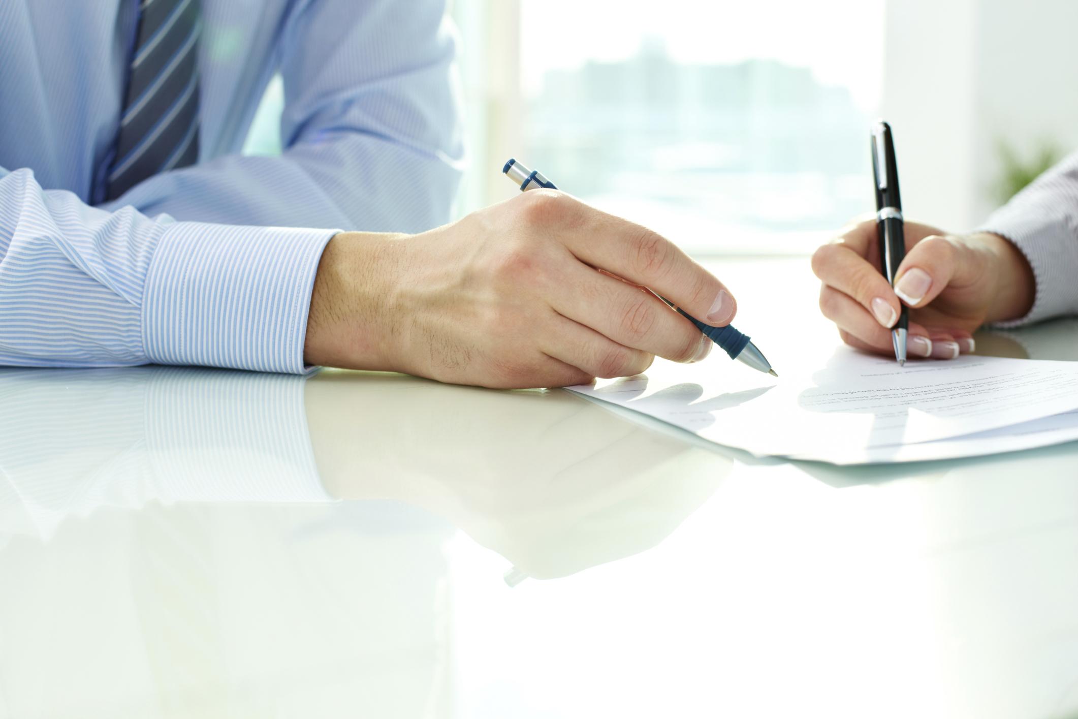 How to Write a Letter Requesting Reimbursement   Bizfluent