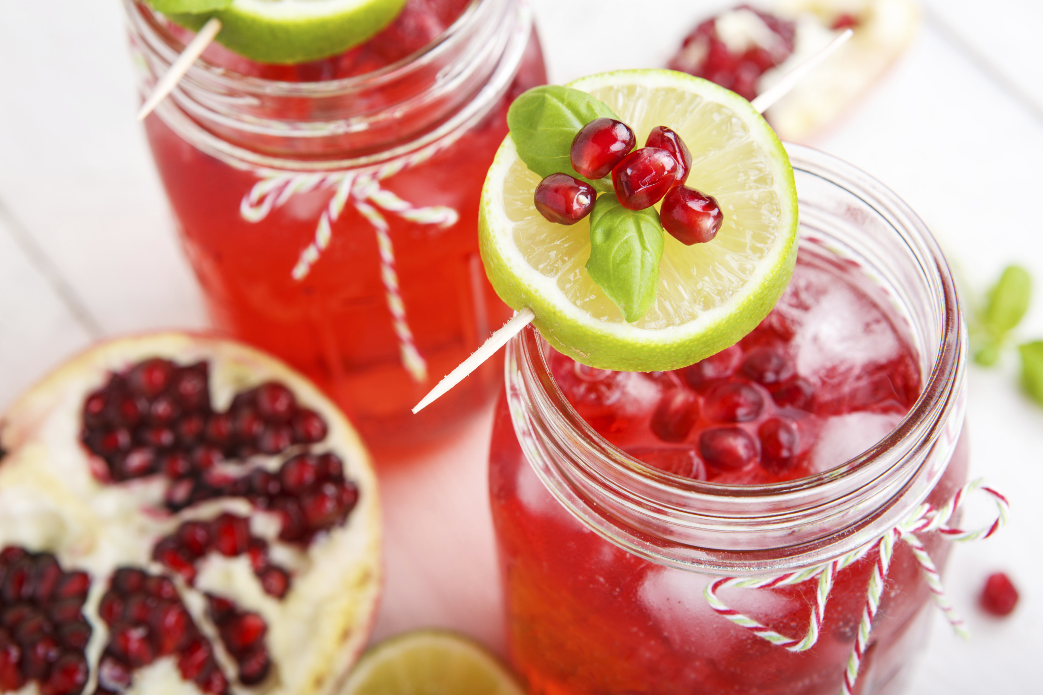 is pomegranate good for enlarged prostate)