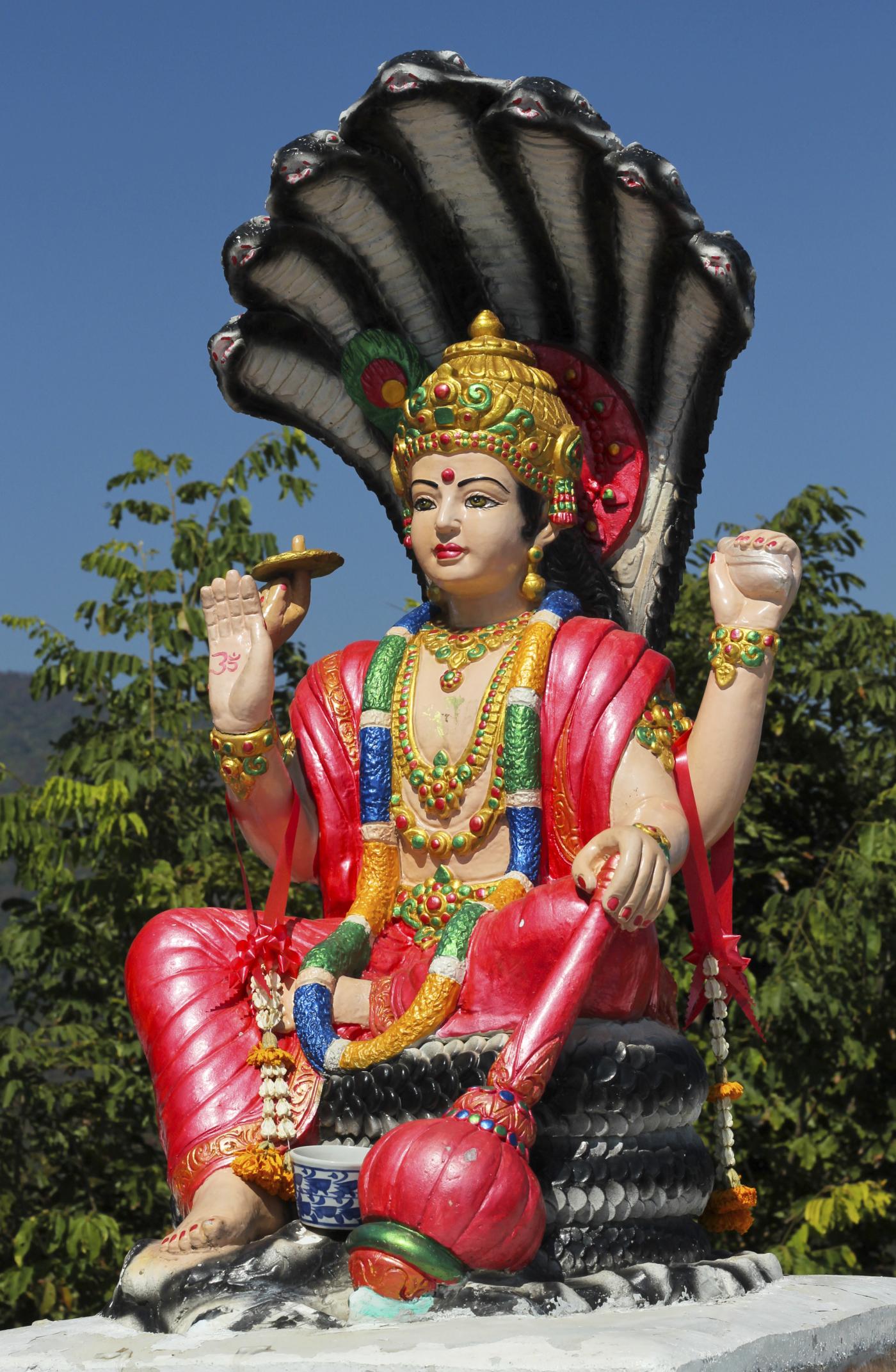 Rituals in a Hindu Temple