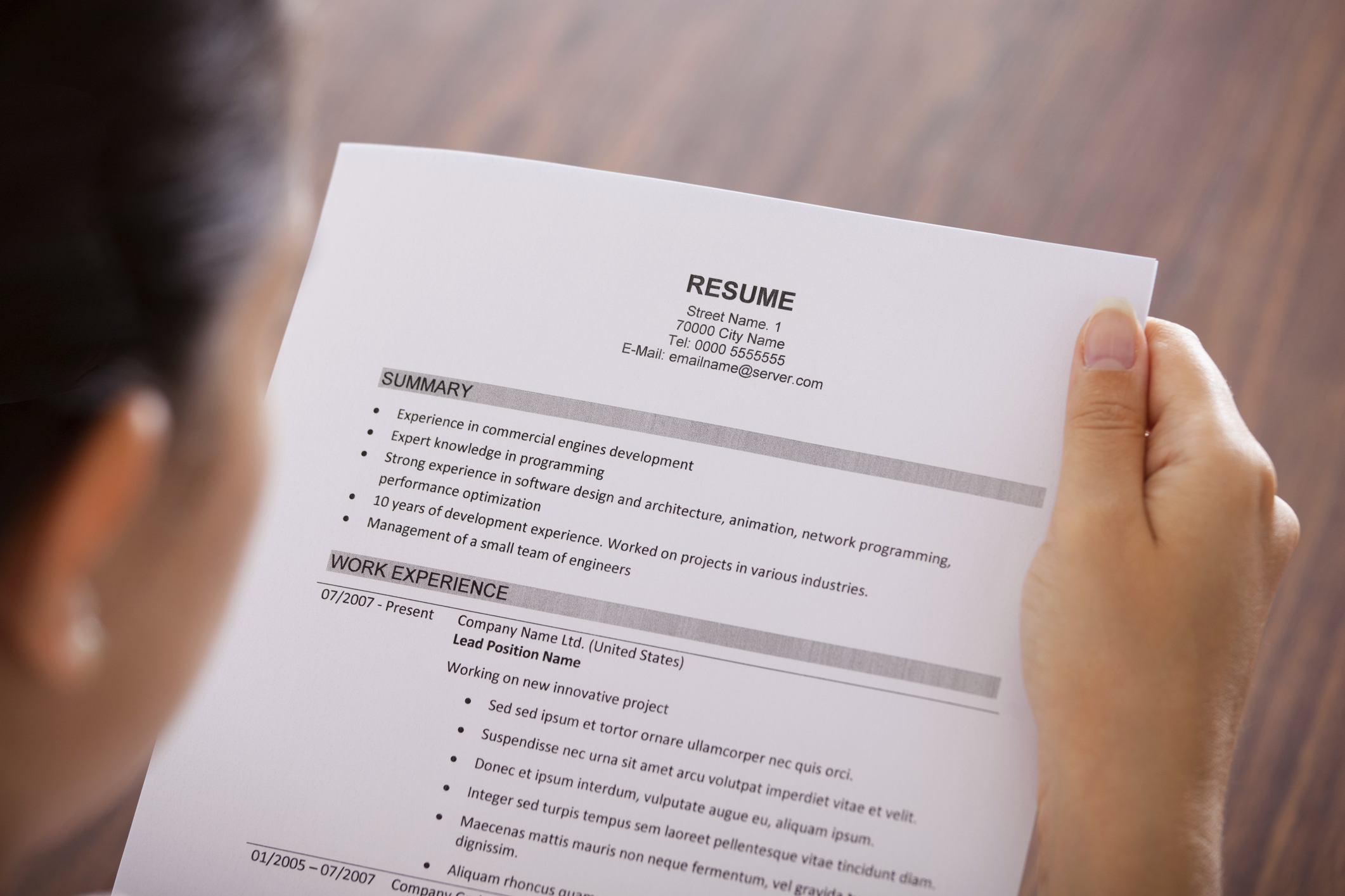 Resume Objectives for Teenagers | LIVESTRONG.COM