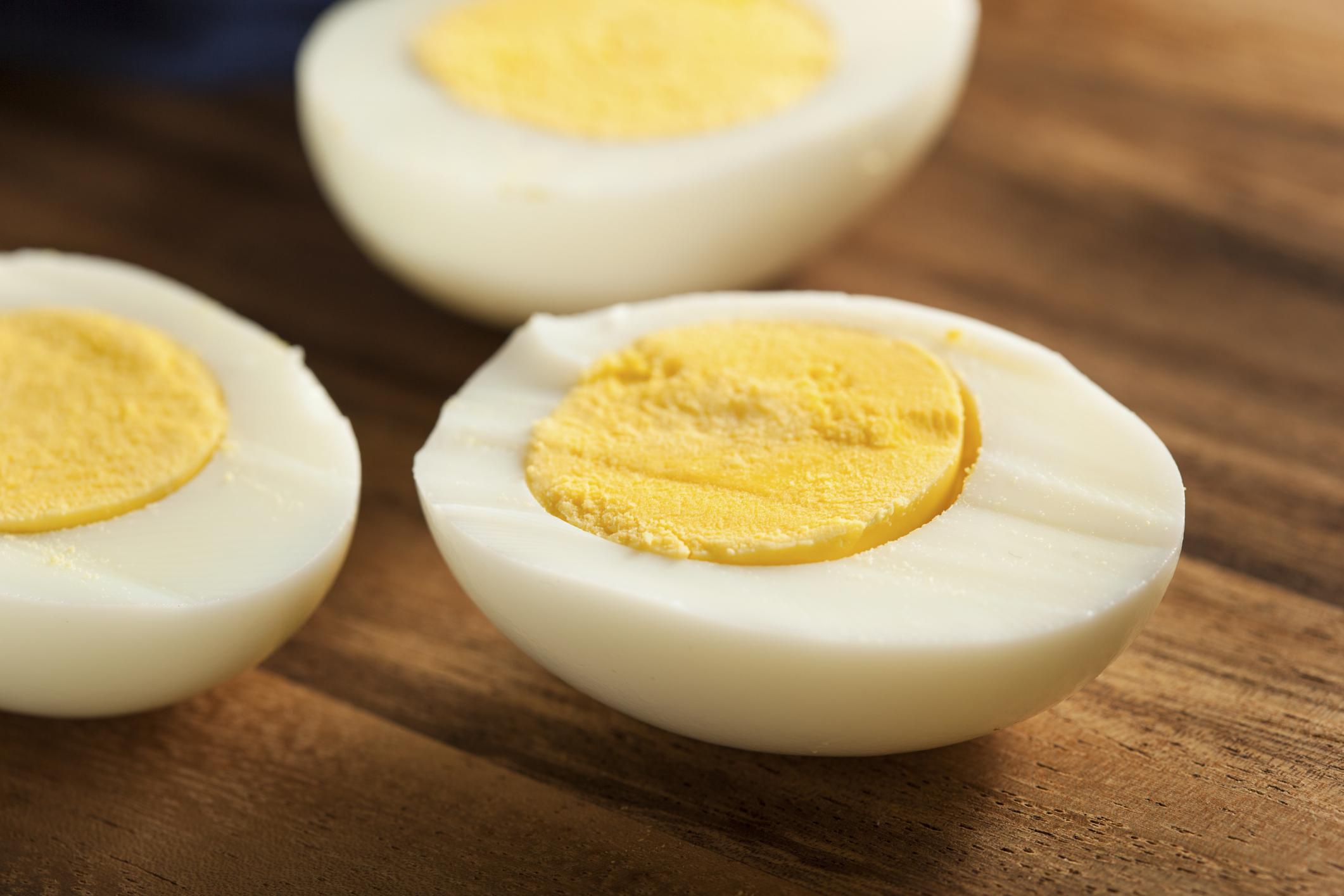 HardBoiled EggWhite Nutrition  LIVESTRONGCOM