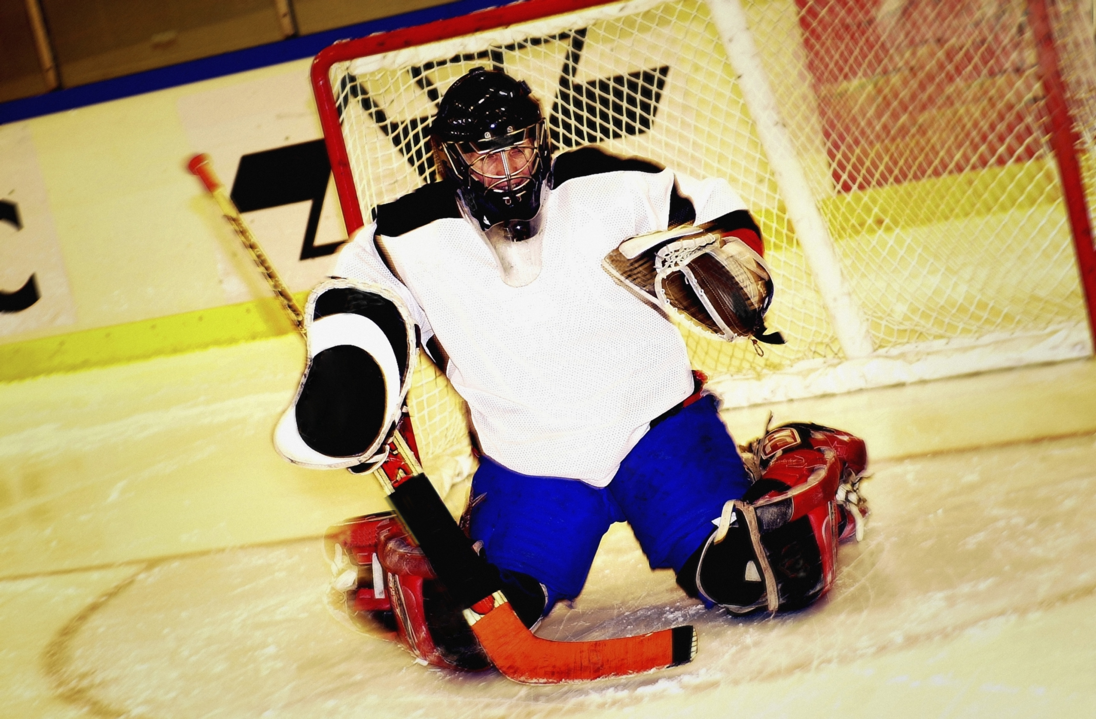 Ice Hockey Can You Pick Up Goalie S Stick Or Is It A Penalty