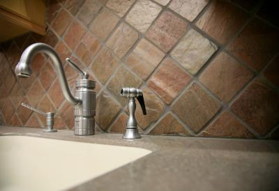 how to clean limescale from granite