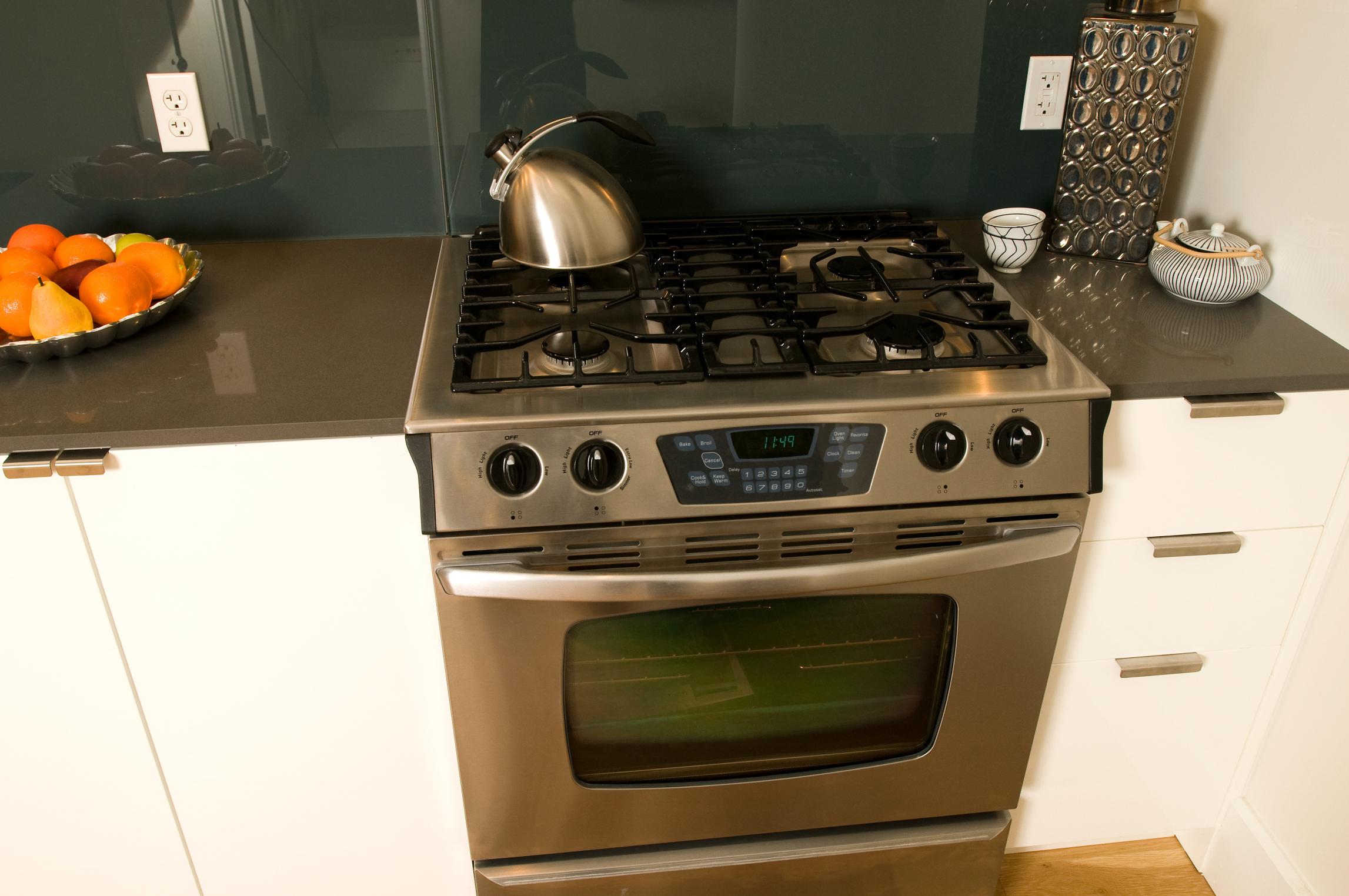 Dimensiones promedio de estufas |