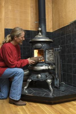 Building A Wood Stove Wall Shield Home Guides Sf Gate