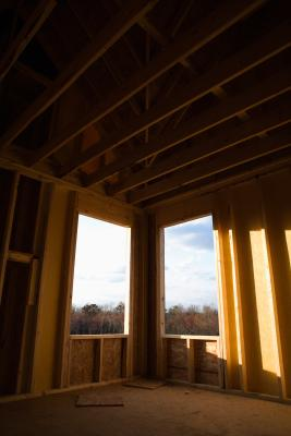 how to add a wall between a ceiling joist