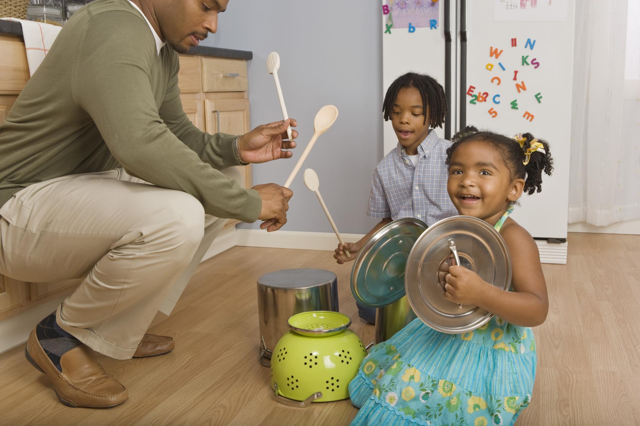 Actividades de percusión para niños