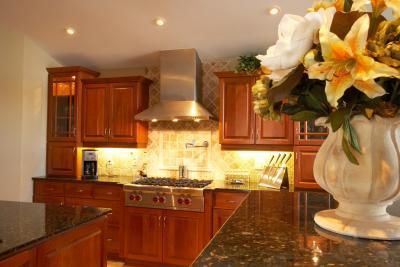 Refinishing Kitchen Cabinets - A Beautiful Mess