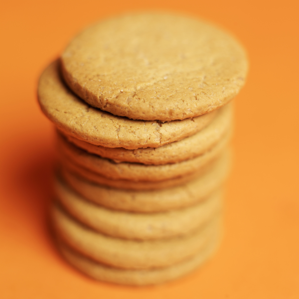The airy pockets in vanilla wafers let them soak up milk.