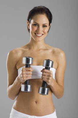 Super Toning Dumbbell Exercises Woman