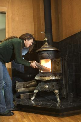 How to Make a Wood Stove Heat More Efficiently | Home Guides | SF Gate