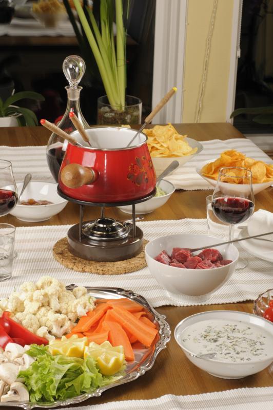 Ideas For Fun Fondue Table Settings Home Guides Sf Gate