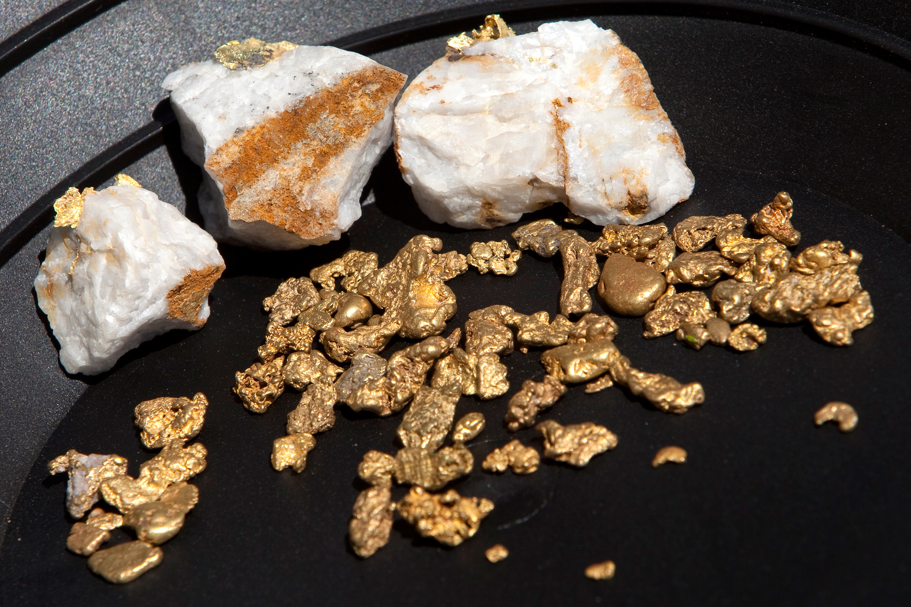 How To Identify Raw Gold