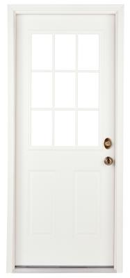 How To Put Curtains On A Front Door That Is Half Glass