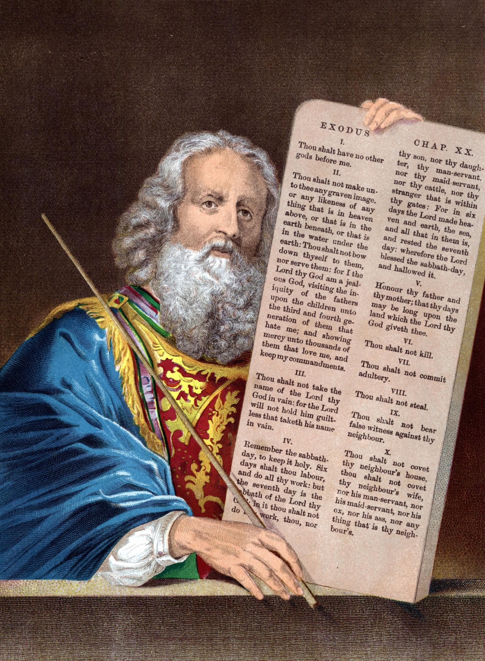 Cómo enseñar los diez mandamientos con imágenes |