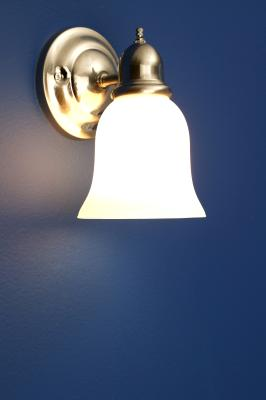 How To Paint A Brass Light Fixture In A Chrome Color Home Guides Sf Gate