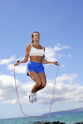 How To Jump Rope To Burn Belly Fat Chron Com