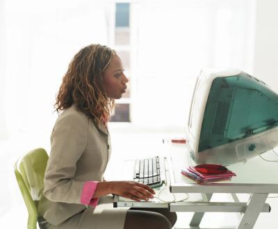 Office Automation Clerk Job Description - Woman