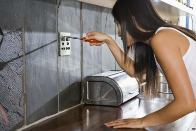 How To Make Outlets Flush With Stone Backsplash Home