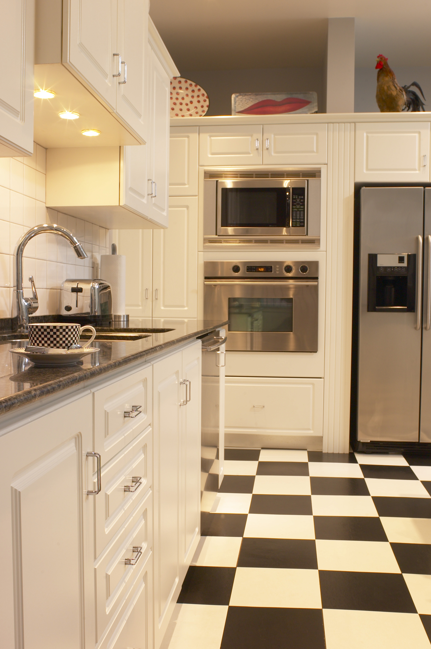 How To Coordinate Floor Tile Color Amp Countertops Home