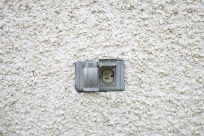 How To Install An Exterior Outlet Box In Stucco Home
