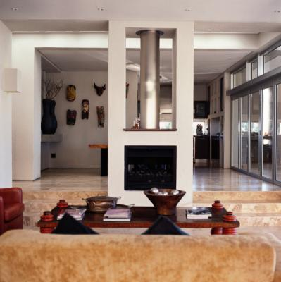 middle of the room fireplace ideas ehow uk