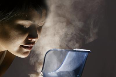 Use a facial steaming device to open facial pores.