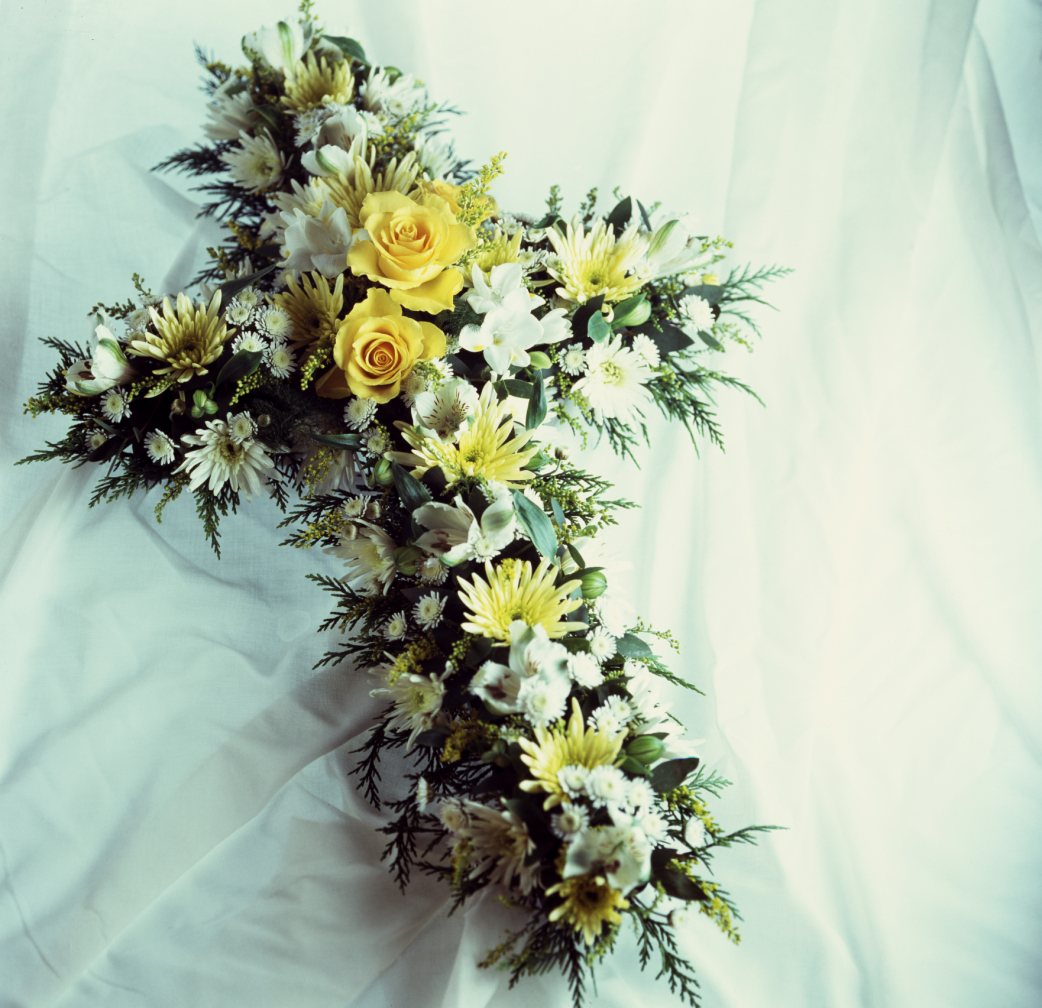 What to say on a funeral flower arrangement synonym dhlflorist Gallery