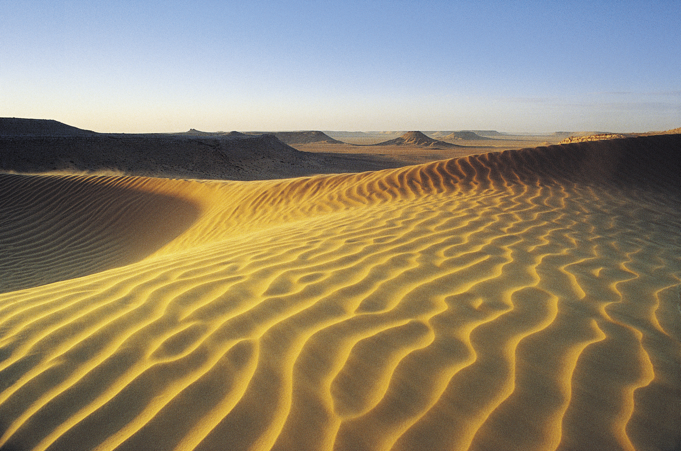 The Topography of Deserts | Sciencing