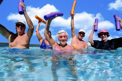 Water Workout routines To Treat Arthritis Pain And Painful Joints
