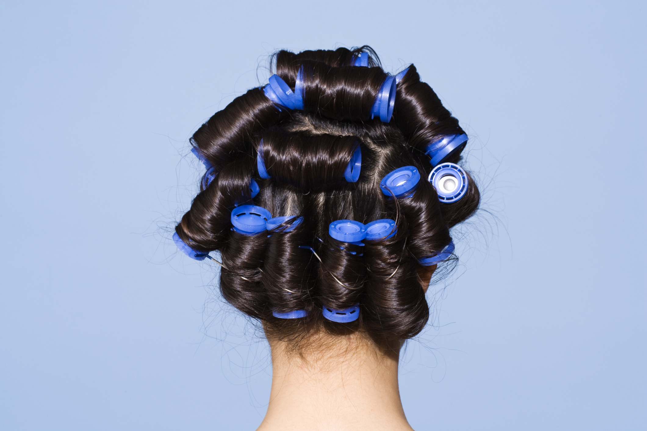 How To Style Layered Medium Length Hair With Hot Rollers