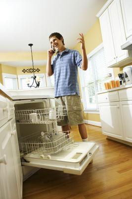 How to Install Laminate Flooring Around a Kitchen ...
