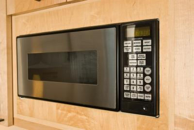 How To Drill A Hole For The Microwave Vent Home Guides