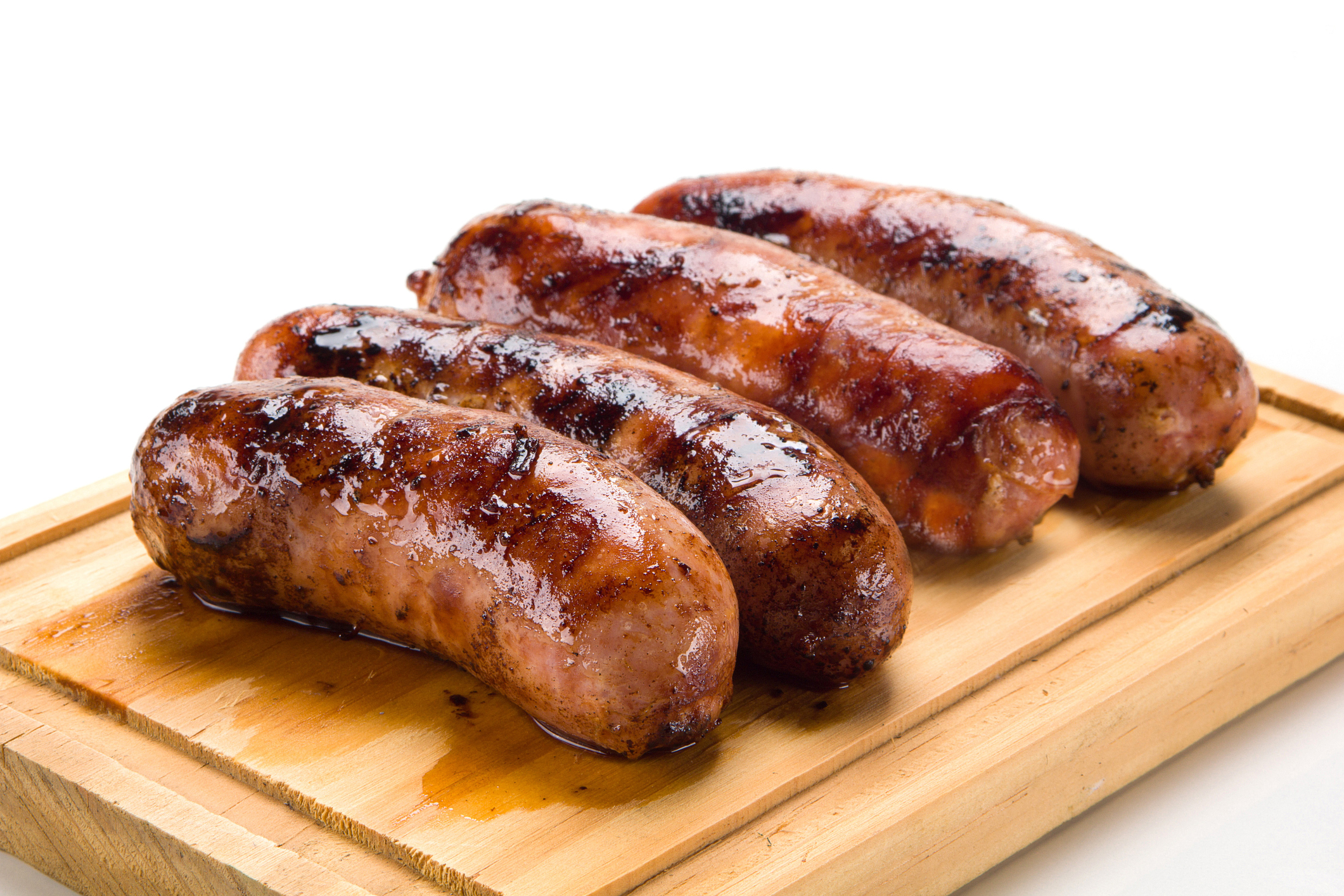 How many calories are there in sausages