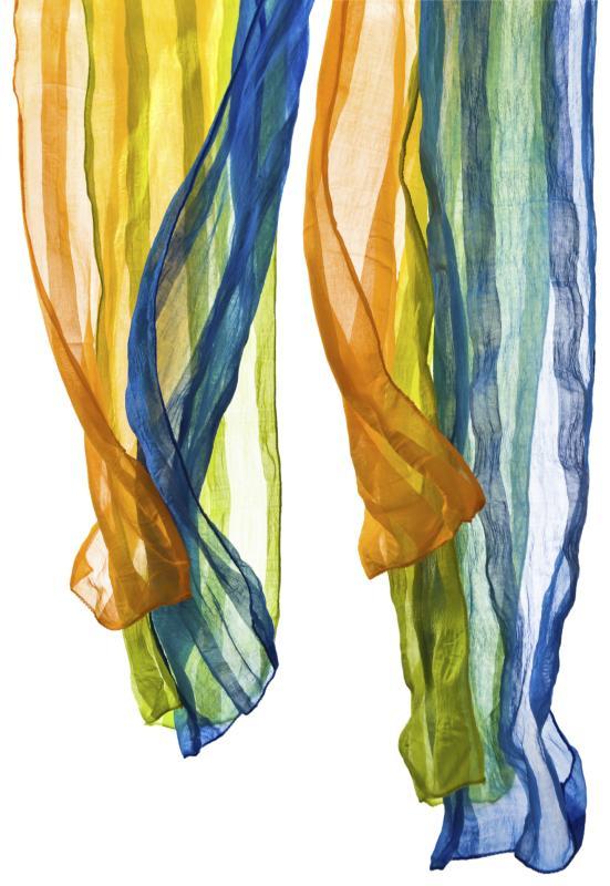 Diy Silk Scarf Curtain Home Guides Sf Gate