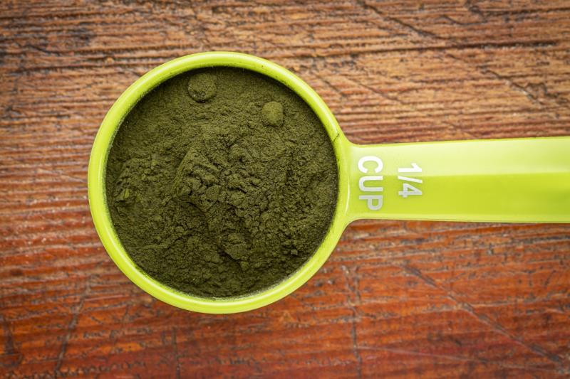 Green Algae Cells Blue-green Algae Supplement
