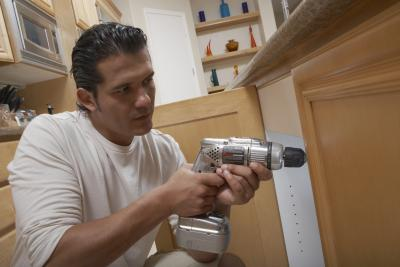 How To Use Wall Molding To Reface Kitchen Cabinets Home