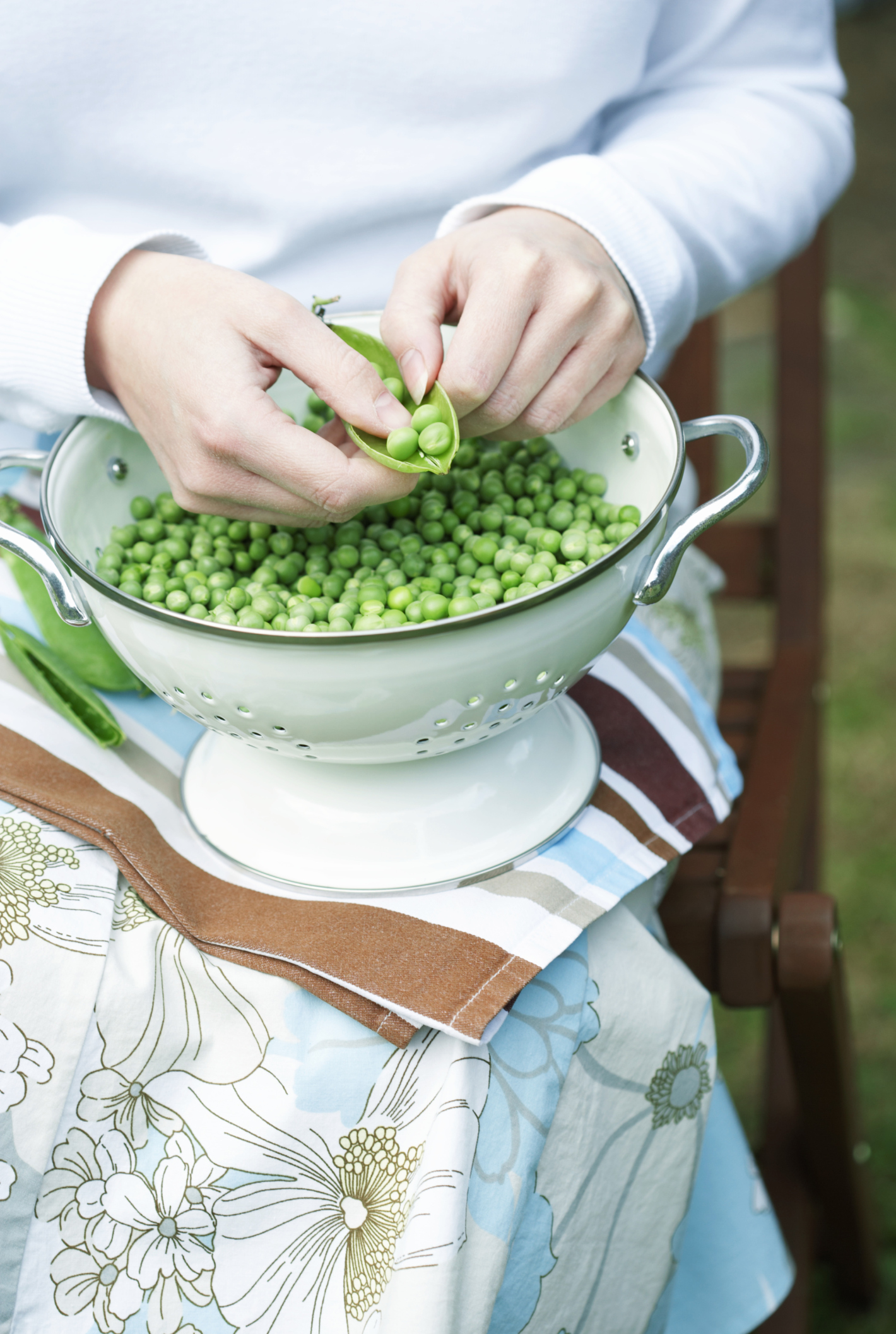 Peas have a low glycemic index.
