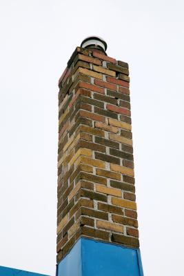 How To Properly Repair The Crown Of A Brick Chimney Home