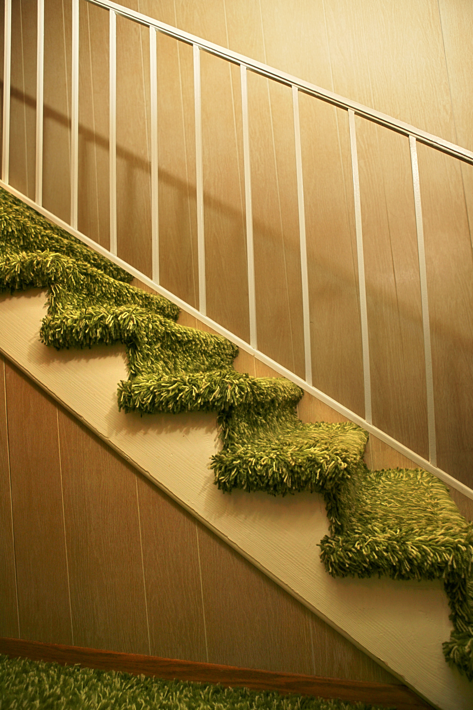 install carpet or trim first