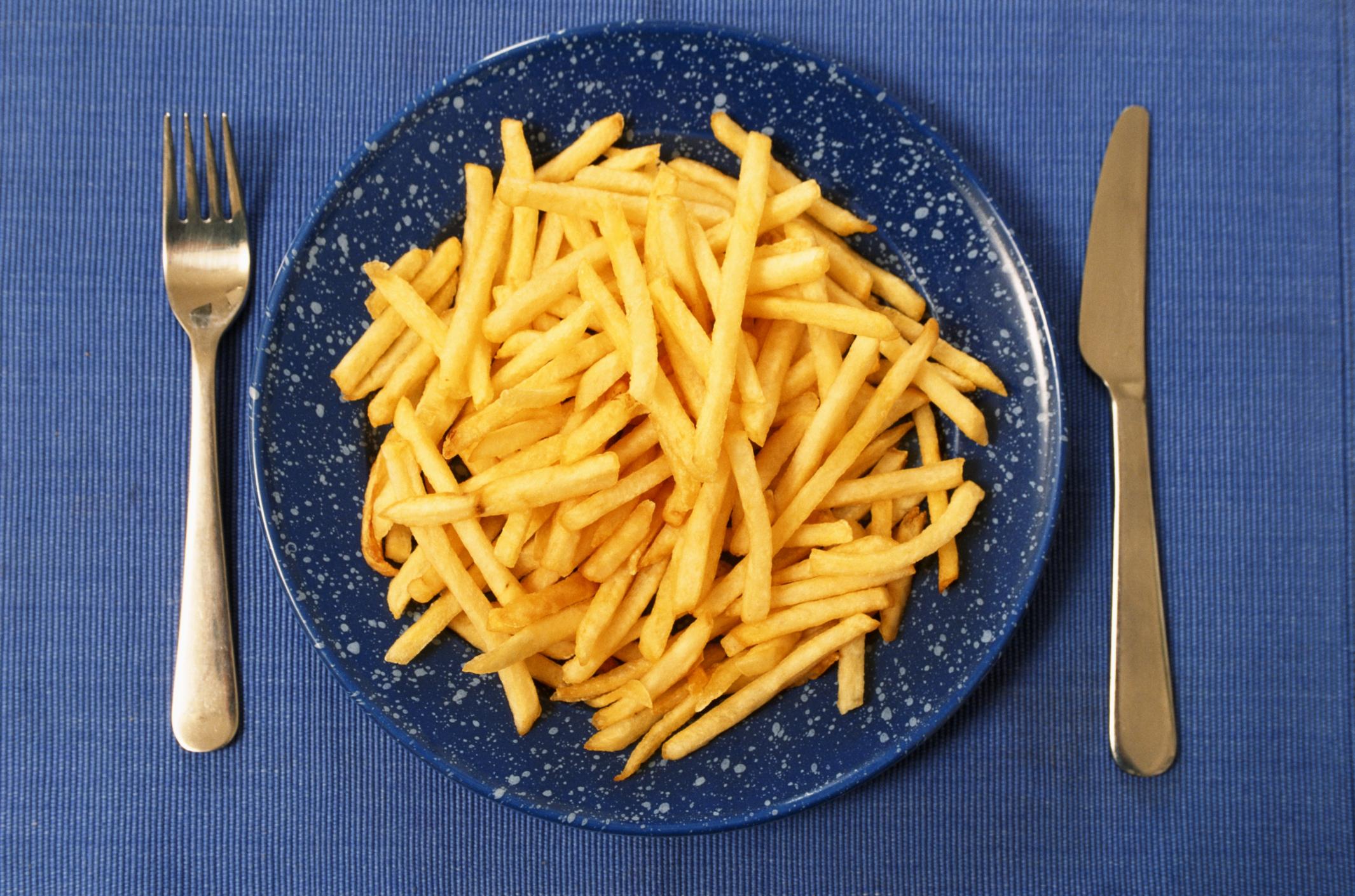 Как на сковороде сделать картофель фри