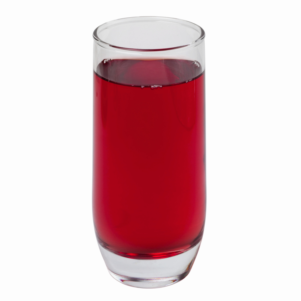 Raspberry soda's sugar content is similar to other flavors.
