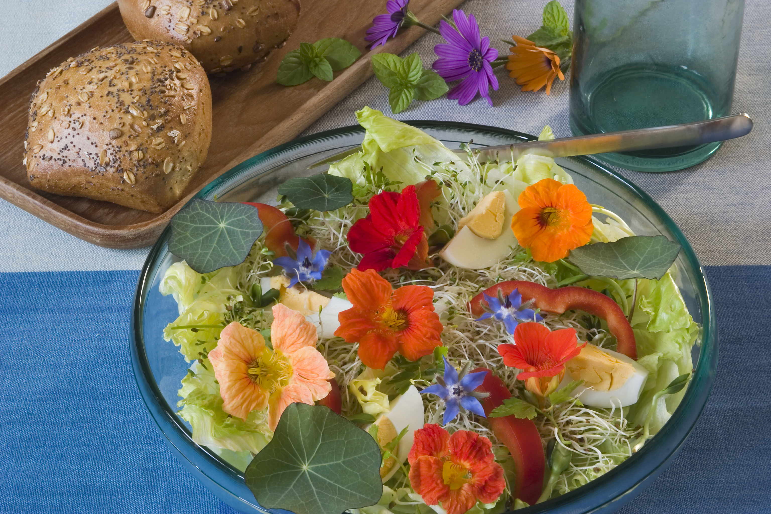 Nutritional Value Of Edible Flowers Livestrong