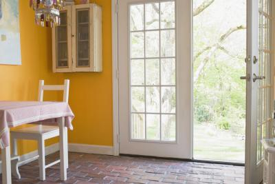 How to make sliding glass doors look like french doors for Sliding glass doors that look like french doors