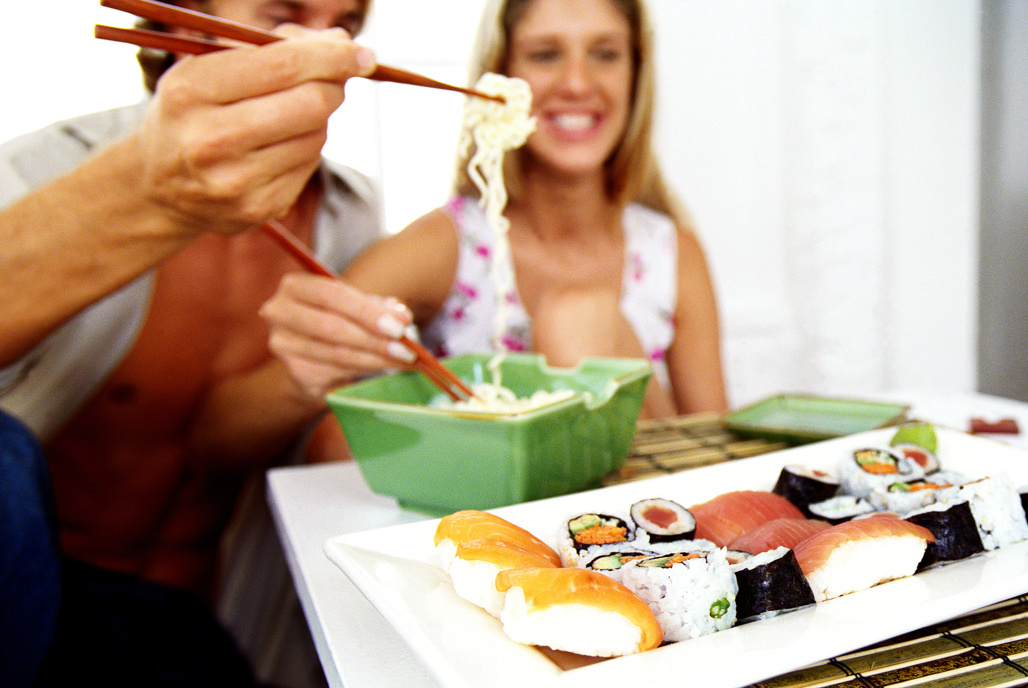 How To Lose Weight By Eating With Chopsticks