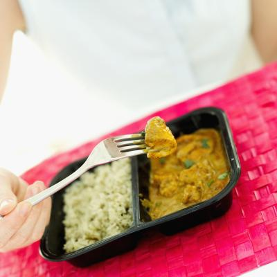 How much sodium should a tv dinner have if you are trying to watch