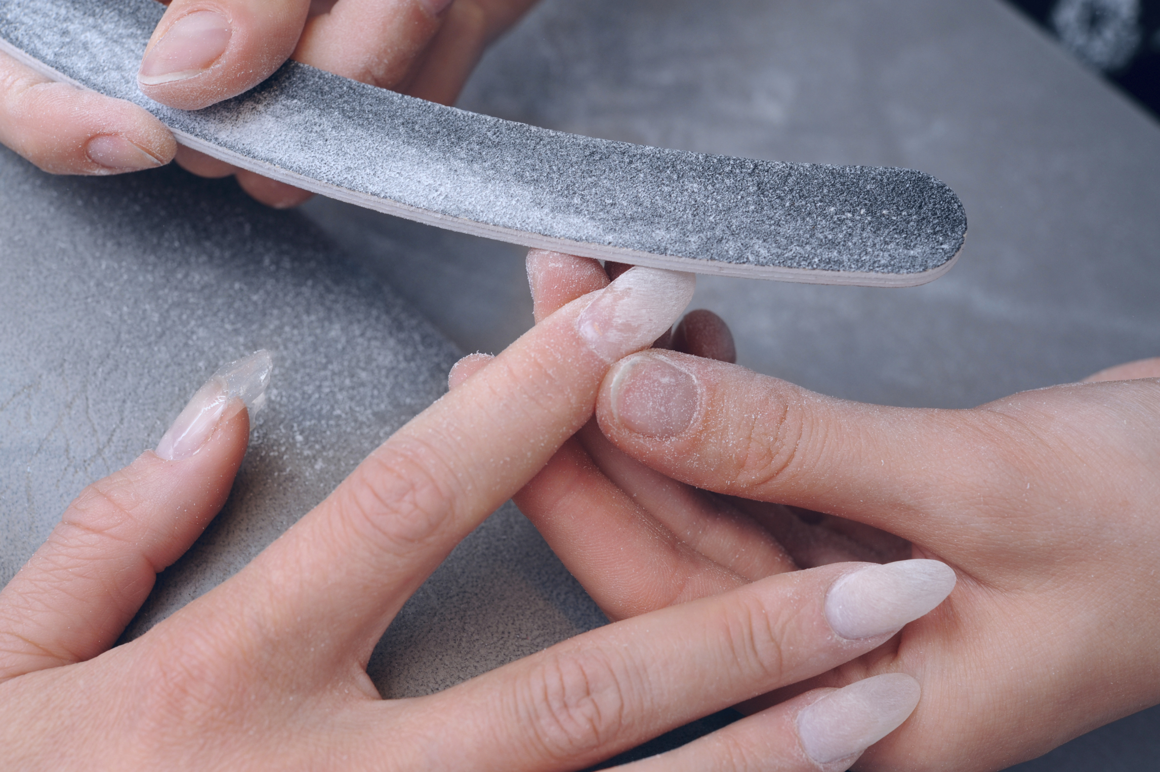 How to Apply Acrylic Over Polished Nails