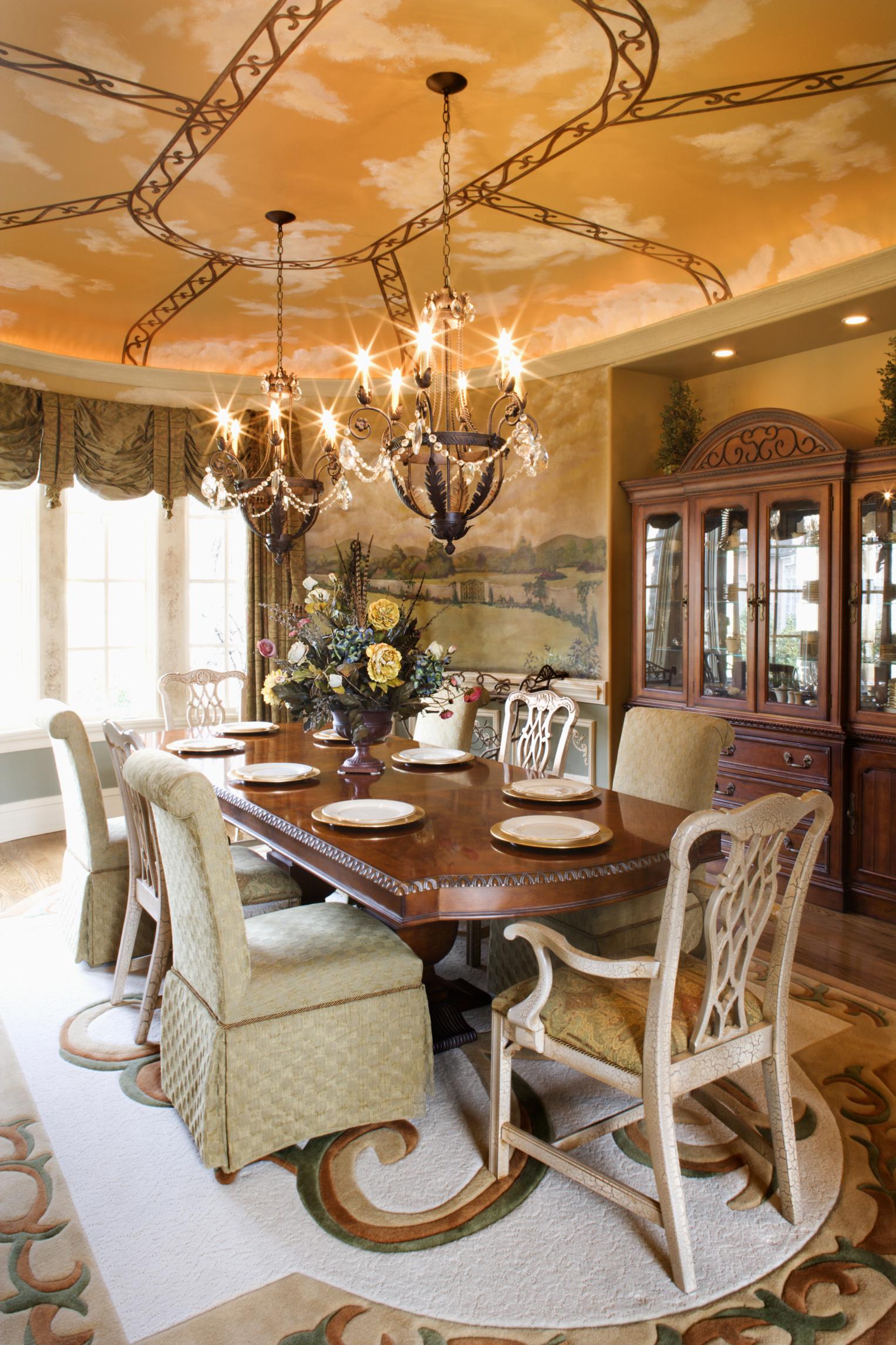 Medidas mesa comedor 12 personas stunning cul es un buen for Mesa glivarp cristal