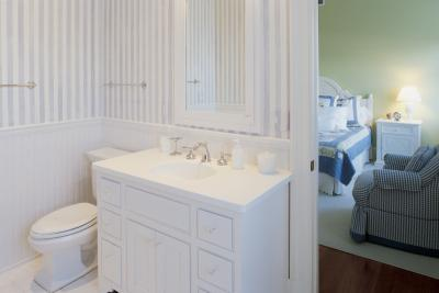 How To Cover Bathroom Tile With Wainscoting Home Guides Sf Gate